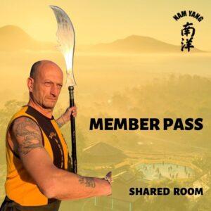Nam Yang Kung Fu Retreat Member Pass Shared Room